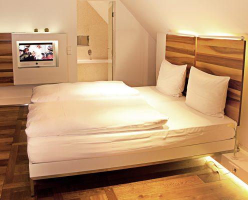 Hopper Hotels, Zimmer - Designhotels in Köln