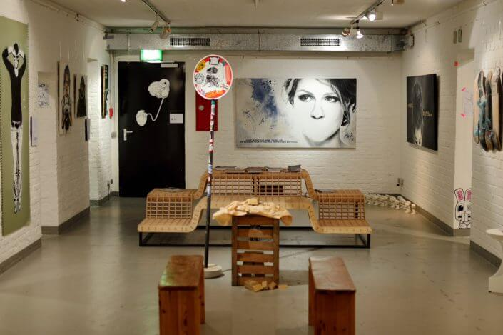 Straßengold-Ausstellung