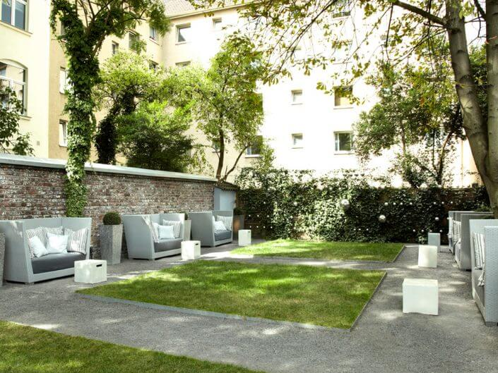 The New Yorker, Garten - Designhotels in Köln