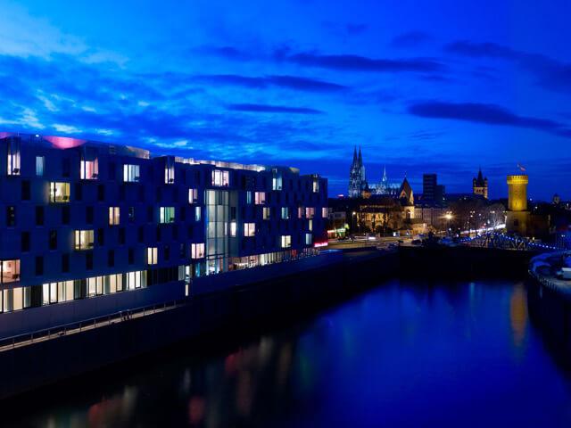 The New Yorker, Aussenansicht - Designhotels in Köln