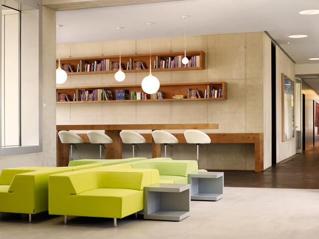 The New Yorker, Leseecke - Designhotels in Köln
