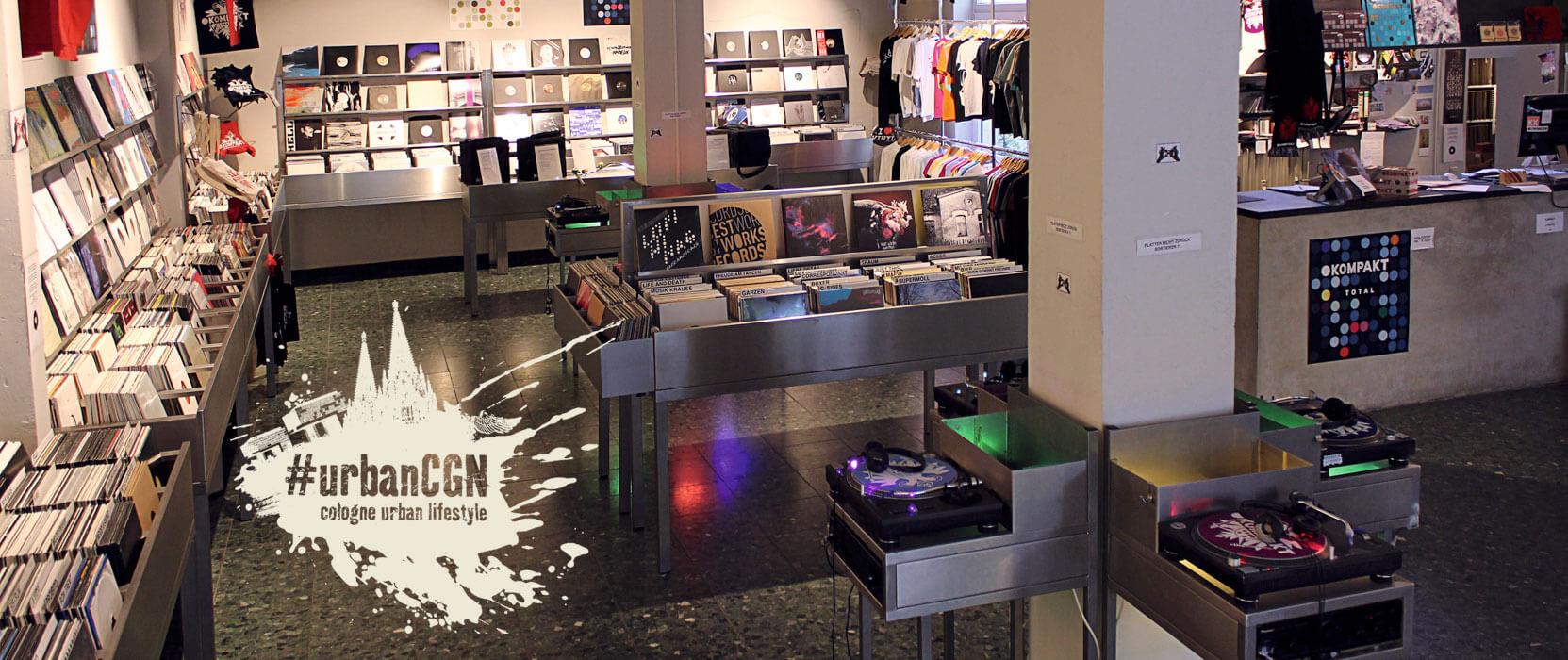 Schallplattenläden in Köln, Teil 2, Kompakt Schallplatten