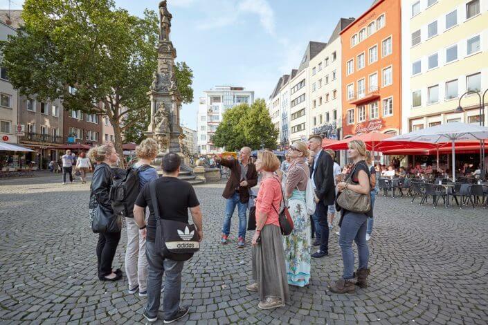 Stadtführung in Köln ©Dieter Jacobi, KölnTourismus GmbH
