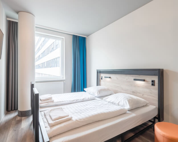 A&O Hostel Köln, Doppelzimmer