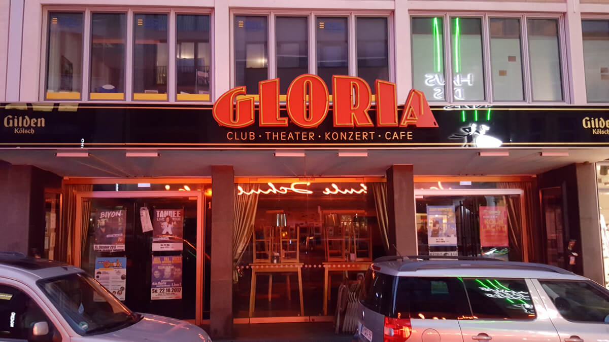 Musik live: Konzert-Locations in Köln - Gloria
