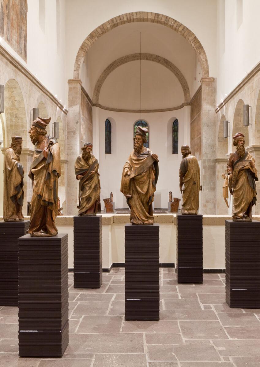 Acht Propheten aus dem Kölner Rathaus, Köln, um 1414, Museum Schnütgen, Leihgabe aus dem Historischen Rathaus. © RBA / W. Meier