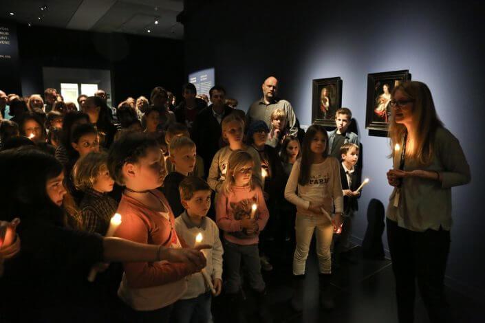 Wallraf-Richartz-Museum & Fondation Corboud Museumsnacht Köln 2015 Foto: Taimas Ahangari © Stadtrevue Verlag Köln