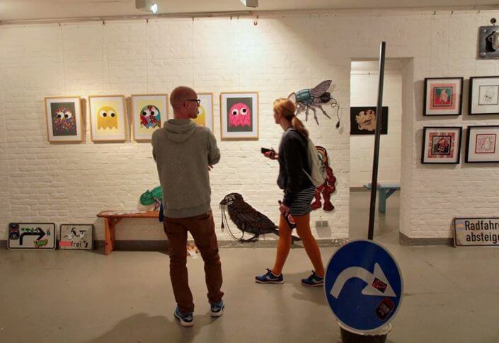 "Ausstellung ""Straßengold"" im Kulturbunker"