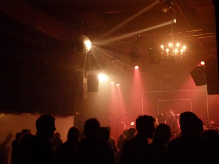 Konzertsaal im Gebäude 9, Foto: Sascha Klein
