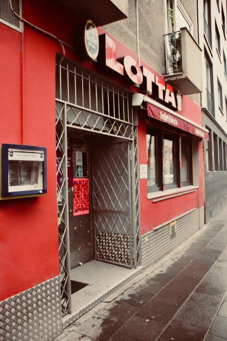 Fünf Kölner Bars und Kneipen zum Wohlfühlen - LOTTA BAR