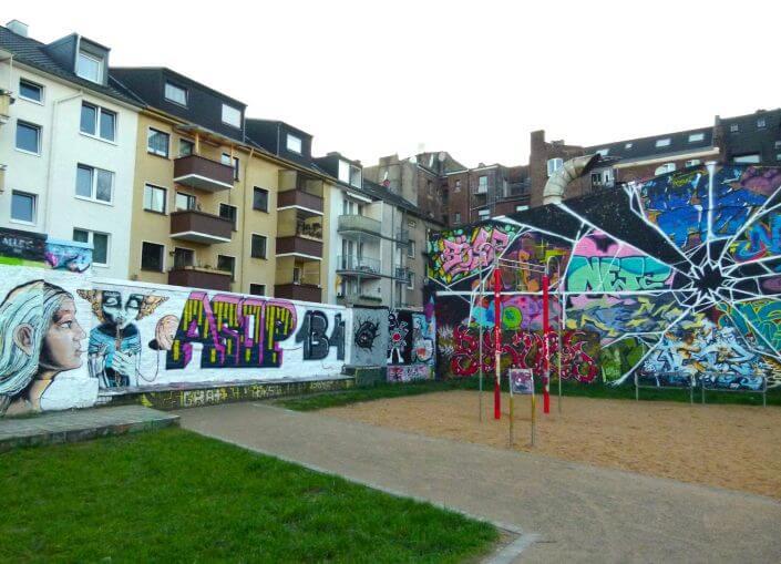 MüTZe Park mit Hall of Fame und Spielplatz, Foto: Sascha Klein