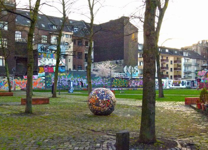 MüTZe Park mit Mosaikei und Hall of Fame, Foto: Sascha Klein