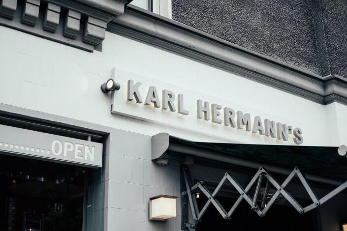 Glutenfrei Essen in Köln | Karl Hermann's | Außenansicht