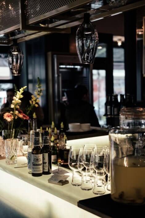 Glutenfrei Essen in Köln | Karl Hermann's | Theke