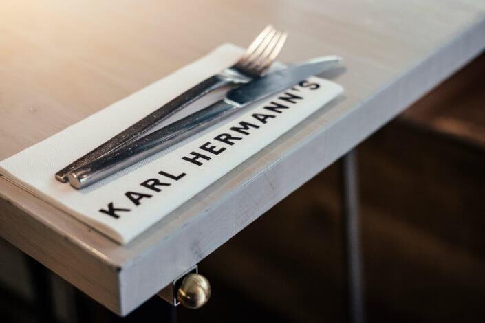 Glutenfrei Essen in Köln | Karl Hermann's | Tisch