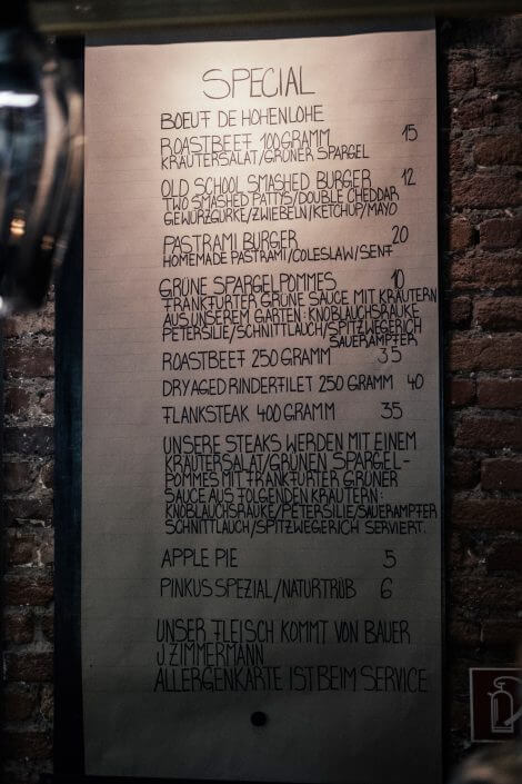 Glutenfrei Essen in Köln | Karl Hermann's | Auswahl