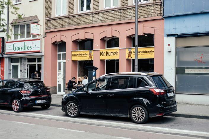 Glutenfrei Essen in Köln | Mr. Kumpir | Außenansicht