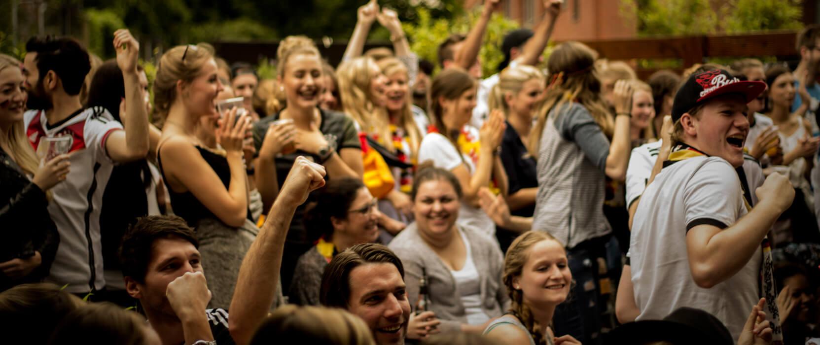 WM 2018: Public Viewing Spots in Köln, ©Club Bahnhof Ehrenfeld