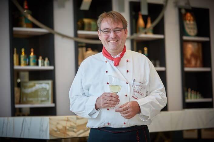Anzeige: 4711 Duftmenü: Koch Alexander Eisenmenger von cocina móvil, ©Axel Schulten