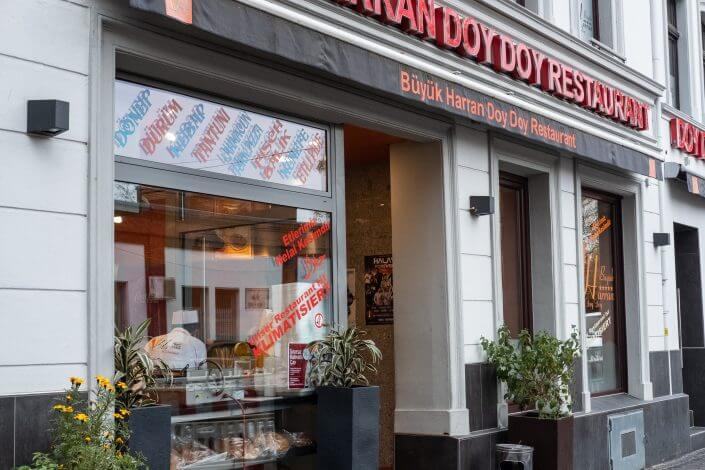 Die vier besten Dönerläden in Köln | Büyük Harran Doy Doy