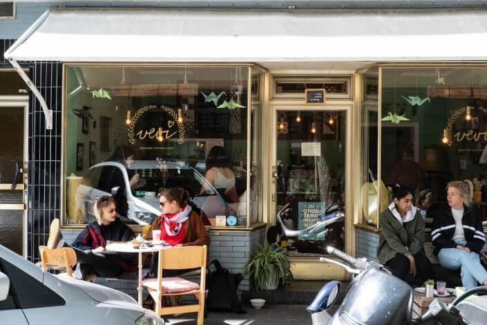 Vegane Cafés & Restaurants in Köln | Café Vevi