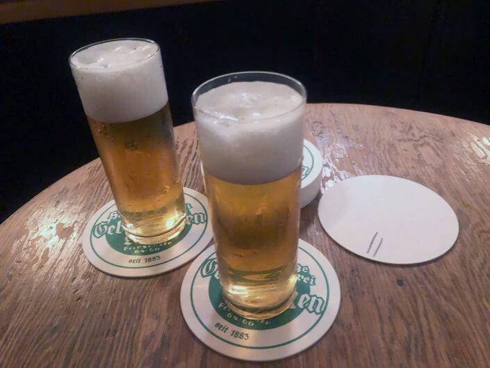 Kölsch in der Malzbier-Brauerei Gerhard Fischenich