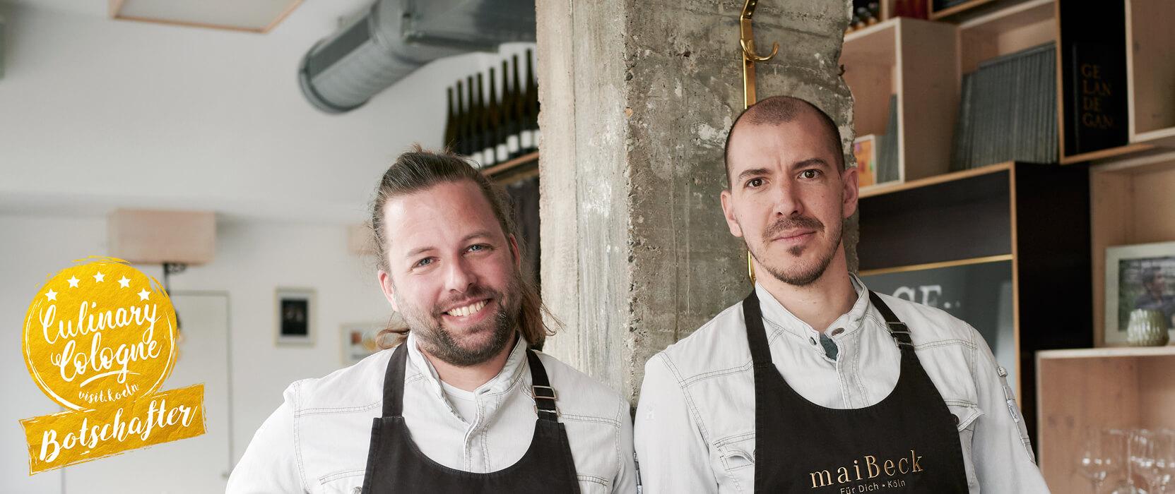 Jan C. Maier und Tobias Becker - #culinarycologne-Botschafter