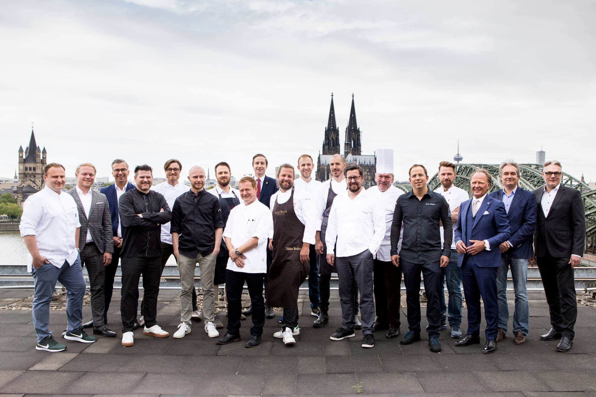 Fine Food Days Cologne | Die Projektpartner auf dem Dach des Hyatt ©Jennifer Braun