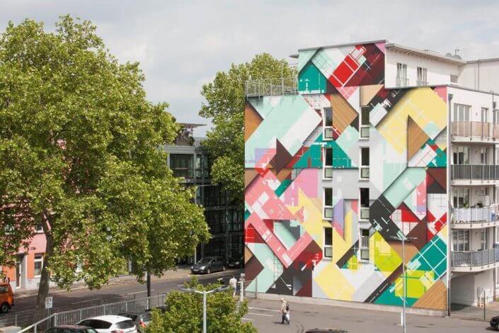 CityLeaks Urban Art Festival 2019 - Mural von Zedz, Leyendeckerstraße 2a, 2019
