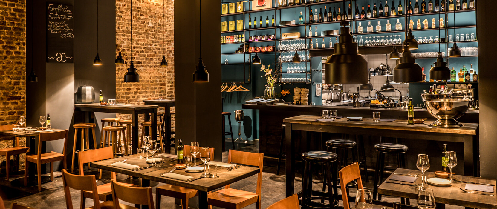 Restaurants für Gruppen - Zu Tisch mit Freunden: Phaedra