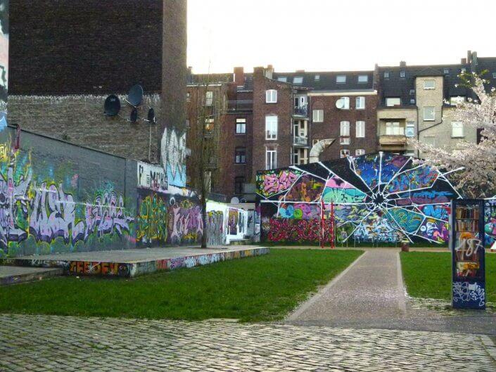 Hall of Fame, MüTZe Park, Berliner Straße, Foto: Sascha Klein