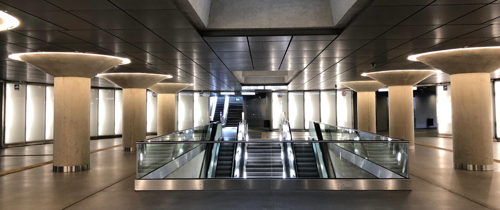 Die schönsten U-Bahn-Stationen in Köln | Chlodwigplatz, ©Ralf Johnen