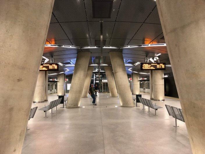 Die schönsten U-Bahn-Stationen in Köln | Chlodwigplatz Skater, ©Ralf Johnen