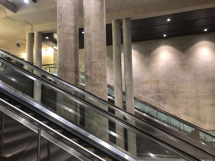 Die schönsten U-Bahn-Stationen in Köln | Heumarkt Treppen, ©Ralf Johnen