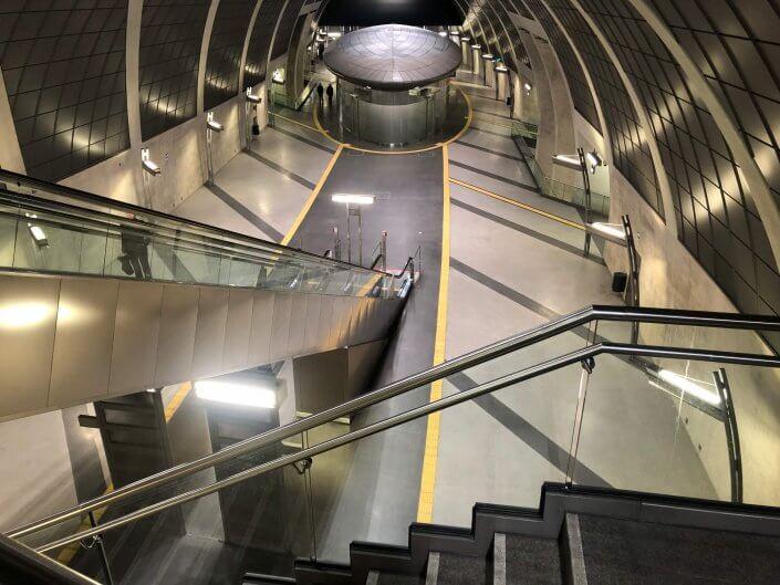 Die schönsten U-Bahn-Stationen in Köln | Heumarkt von oben, ©Ralf Johnen