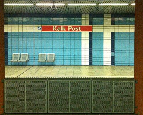 Die schönsten U-Bahn-Stationen in Köln | Kalk Post, ©Ralf Johnen