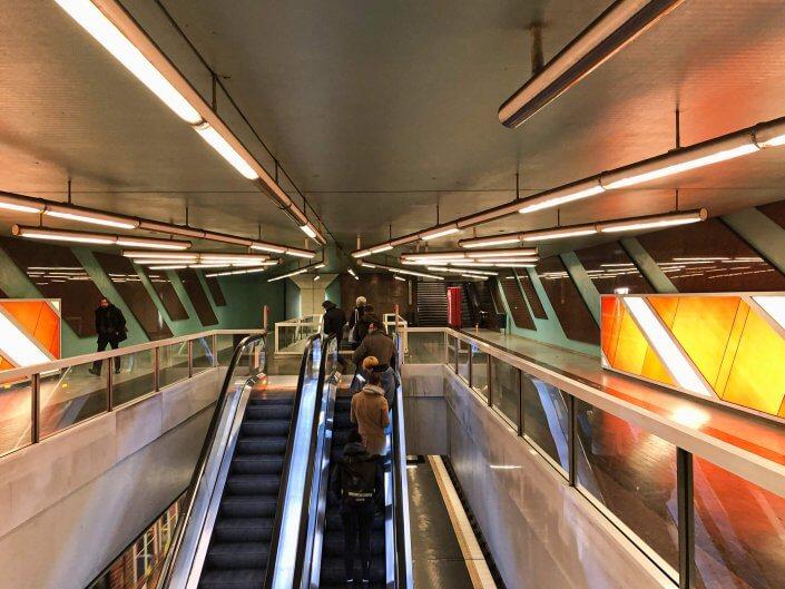 Die schönsten U-Bahn-Stationen in Köln | Körnerstraße, ©Ralf Johnen