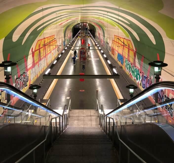 Die schönsten U-Bahn-Stationen in Köln | Leyendeckerstraße, ©Ralf Johnen