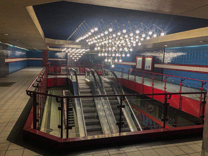 Die schönsten U-Bahn-Stationen in Köln | Piusstraße, ©Ralf Johnen