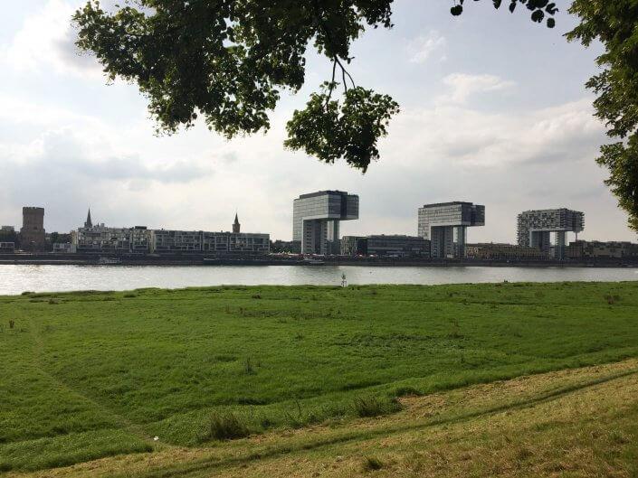 Joggen und Sightseeing - 5 schöne Laufstrecken in Köln | Poller Wiesen, ©Ralf Johnen